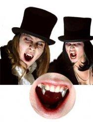 Vampyr hugtænder til voksne