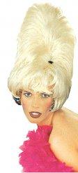Blonde paryk