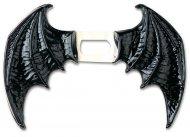 Dæmon vinger i sort vinyl