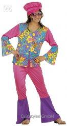 Hippie 70er kostume pige