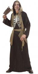 Skelet kostume voksen