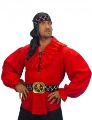 Pirat skjorte rød mand