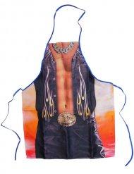Sexet cowboy forklæde mand