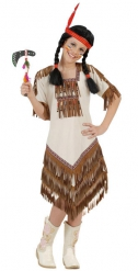 Kostume squaw indianer pige