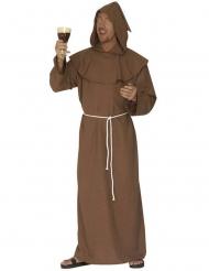 Kostume munk i brun