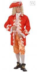 Kostume adelig barok rød man