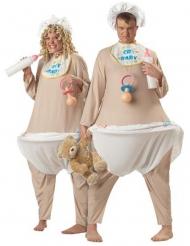 Stor baby kostume deluxe