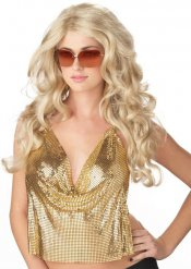 Paryk blond glamour til kvinder