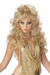 Paryk lang blond 80er