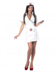 Kostume sygeplejerske kort