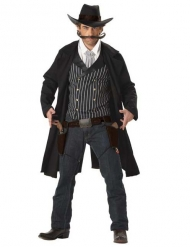 Kostume cowboy Santa Maria til mænd sort