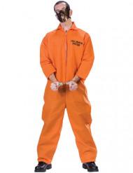 Fængselskannibal kostume Halloween - mand
