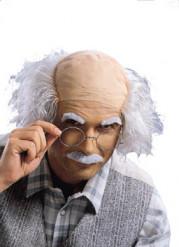 Paryk overskæg og øjenbryn gal videnskabsmand