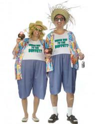 kitsch turist kostume voksen