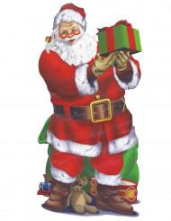 Jule vægdekoration - Julemand 165x85cm