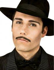 Luksus gangster overskæg sort