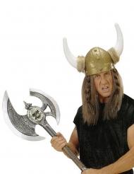 Vikingeøkse sølvfarvet