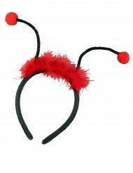 Mariehønehårbånd med antenner til piger