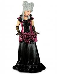 Kostume barokt sort og lilla til kvinder