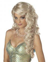 Paryk havfrue blond til kvinder