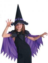 Kappe violet med heksehat til piger