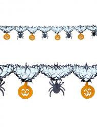 Guirlande edderkopper og græskar