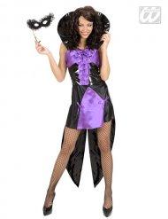 Dronning gotisk vampyr kostume kvinde