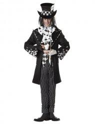 Kostume gal hattemager sort og hvid til mænd