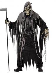 Kostume manden med leen sort til voksne Halloween