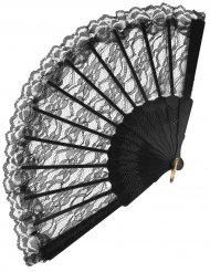Vifte blonder sort 24 cm til voksne