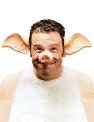 Hårbåndmed griseører