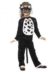 Kostume heldragt lille kat til børn