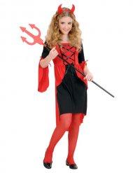Kostume djævel til pige Halloween