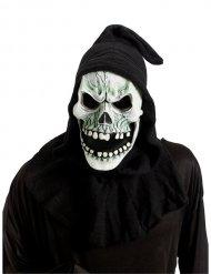 Skelet-monster maske til voksne