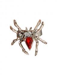 Halloween ring med edderkop