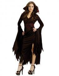 Kostume gotisk vampyr til kvinder Halloween