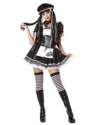 Gotisk dukke kostume kvinde