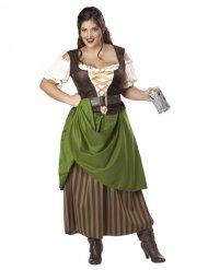 Charlotte - middelalderkostume til kvinder