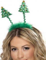 Hårbøjle med juletræer til voksne