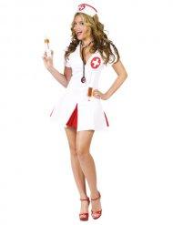 Sexet sygeplejerskekostume til kvinder