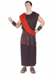 Kostume mand romersk antik rød og sort