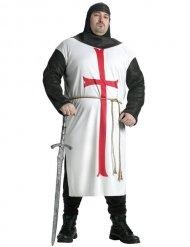Tempel ridder kostume stor størrelse - mand