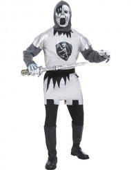 Zombie ridder kostume mand
