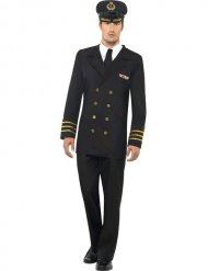 Kostume marine officer til mænd