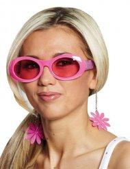 Disco brille lyserøde