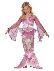 Kostume havfrue lyserød til piger