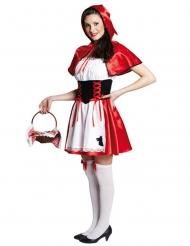 Lille rødhætte kostume kvinde