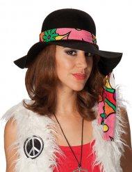 Hat hippie sort til kvinder