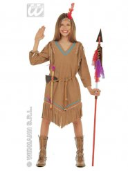 Kostume indianer pige