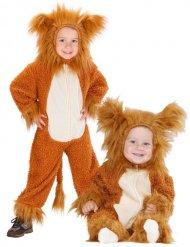 Kostume løve i plys til babyer